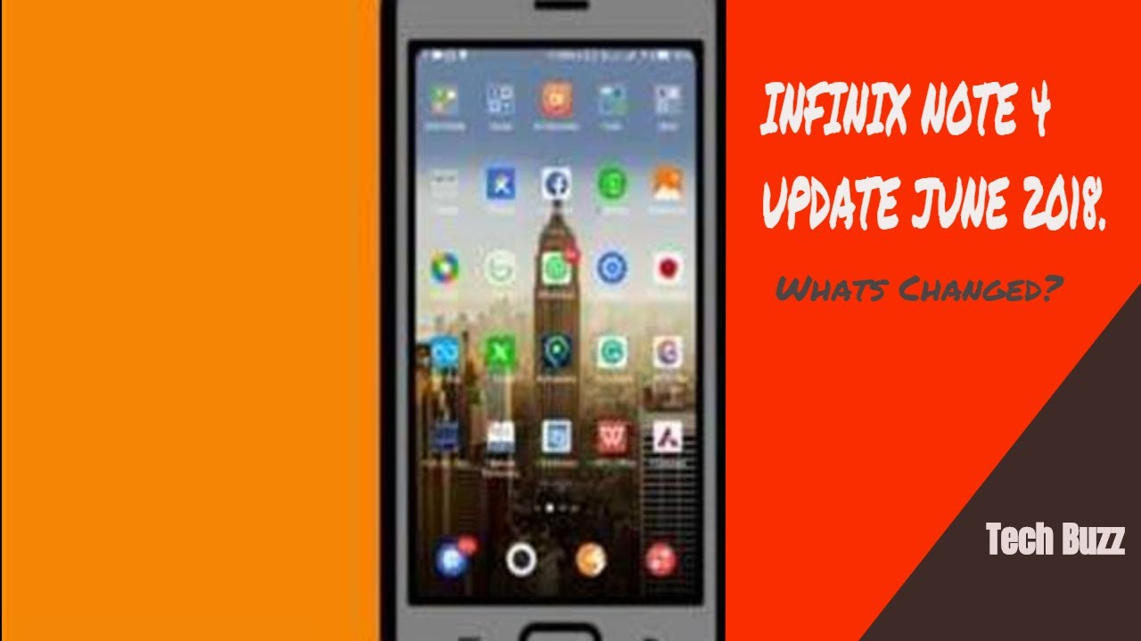 Infinix Note 4 Update Oreo 8 1 Optimized June 2018