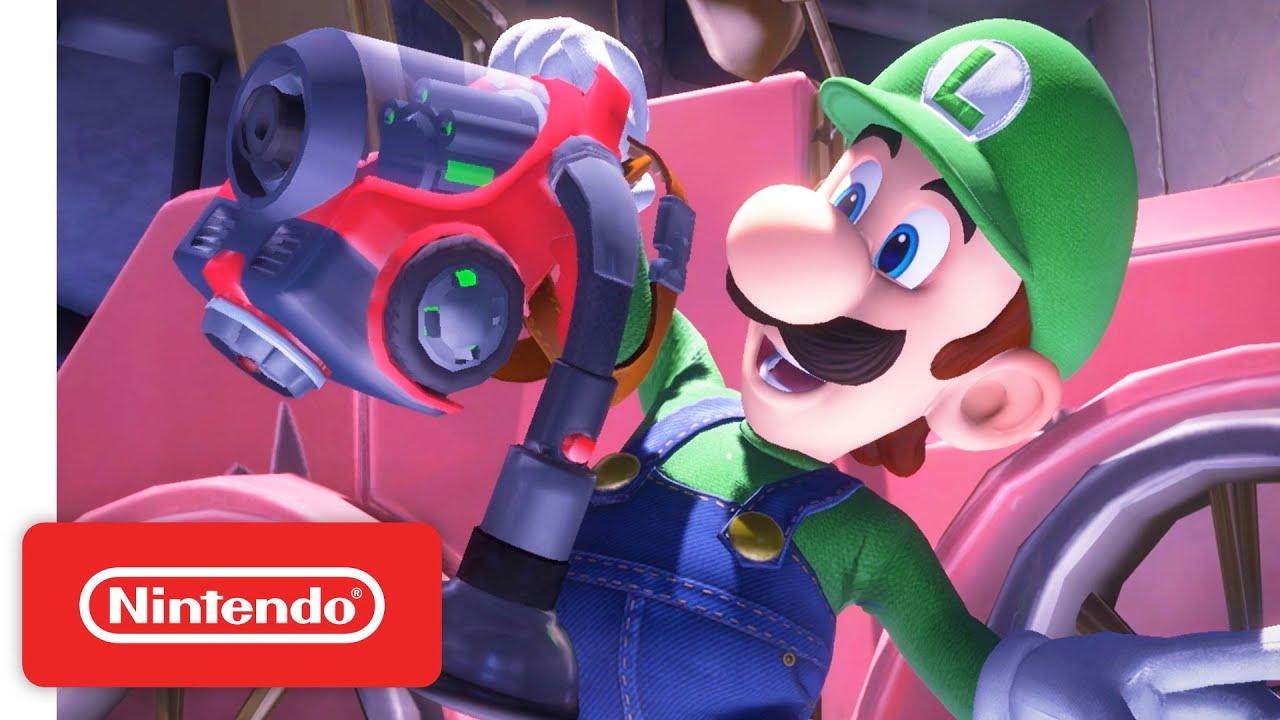Εξοπλιστείτε με το Gear Up trailer του Luigi's Mansion 3