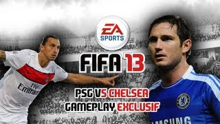 FIFA 13 - Match en compagnie de Florian de EA France - Gameplay exclusif