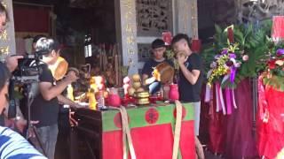 アキーラさん観察①台湾・台南・安平の寺の儀式!Ampin in Tainan in Taiwan
