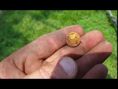 "Hunting 3 houses ""US Gold Mail Button"""