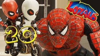 SPIDERMAN  Stop Motion Action Video Part 20
