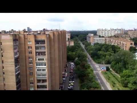 Крыши Москвы - Халтуринская 20