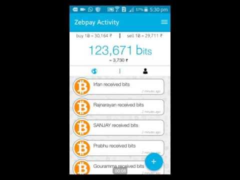 How to buy bitcoins from Zebpay - Hindi/Urdu