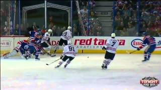 Jeff Petry 3-2 Goal - Oilers vs. Blackhawks - January 9th 2015 (HQ)