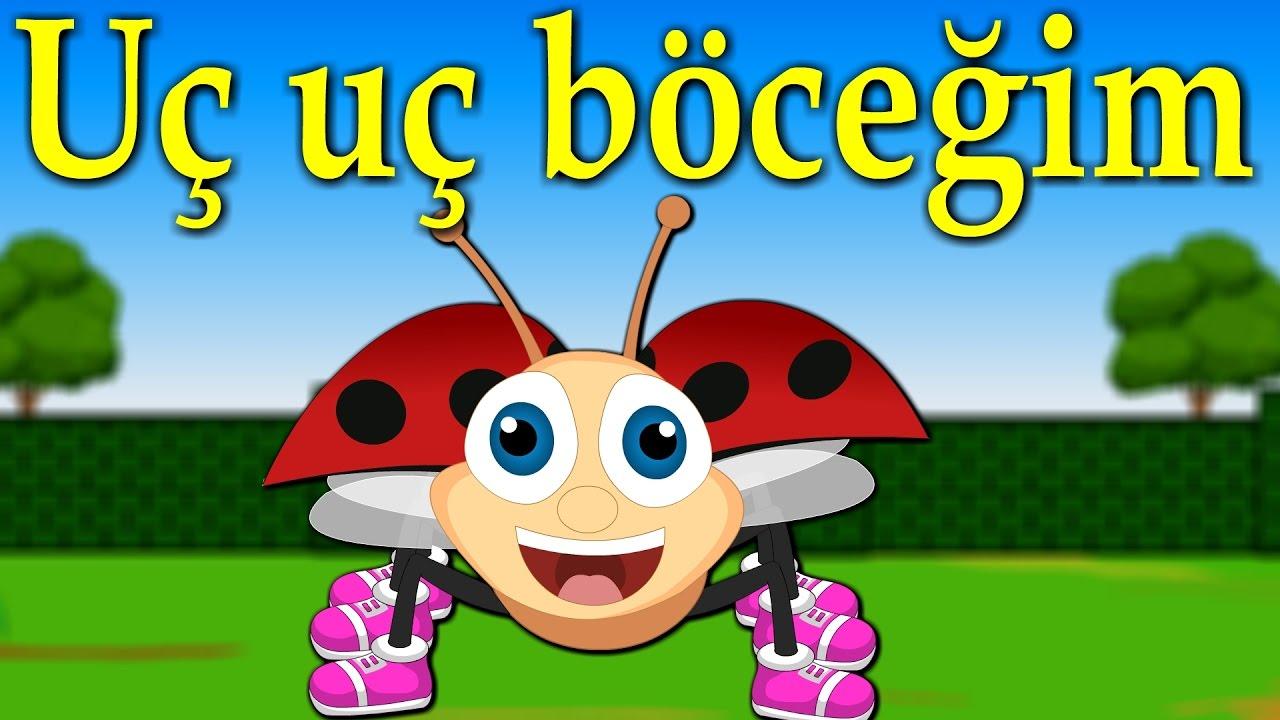 Uç uç böceğim   Yeni Çizgi Film Bebek Şarkıları   Balon TV - Çocuk Şarkısı Bir Arada
