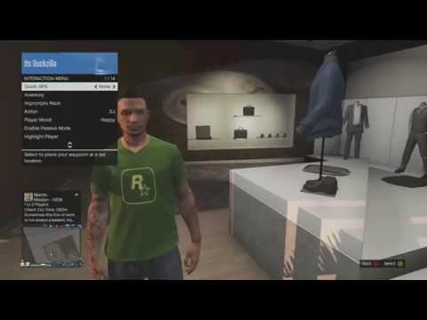 GTA 5 Online : How To Get The Rockstar Games Shirt
