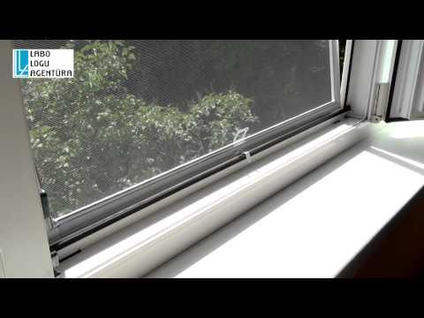 видео: Как установить москитную сетку на стеклопакет.Видео-инструкция