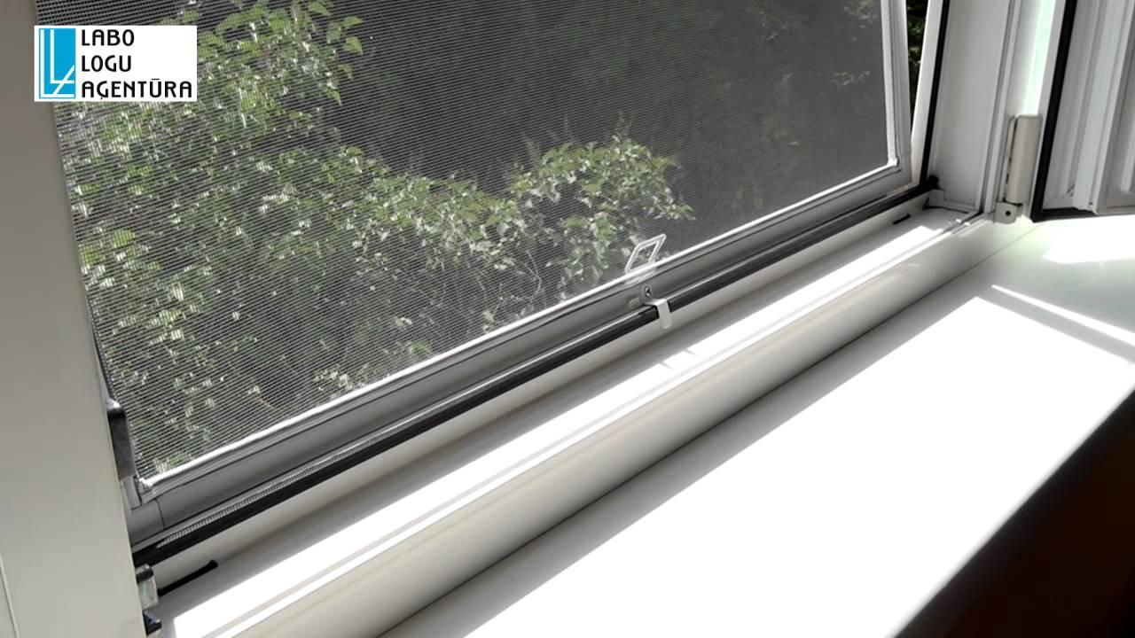 Как установить сетки на пластиковые окна электро жалюзи на пластиковые окна с улицы
