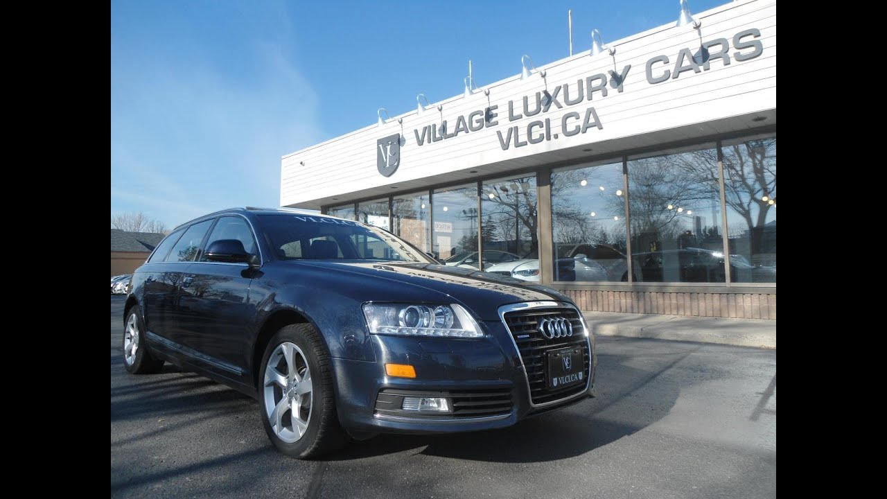 medium resolution of 2010 audi a6 avant in review village luxury cars toronto