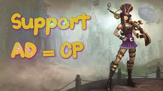 League of Legends All Star Supports #12 Surpressing fire Caitlyn