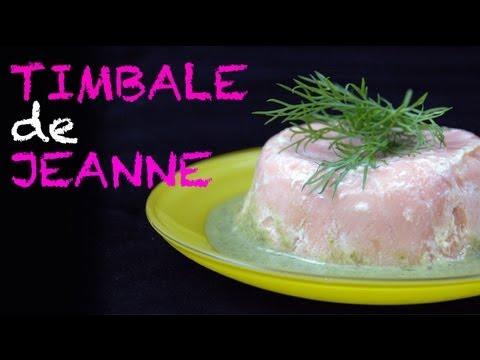 Timbale de Jeanne - recette au micro-ondes