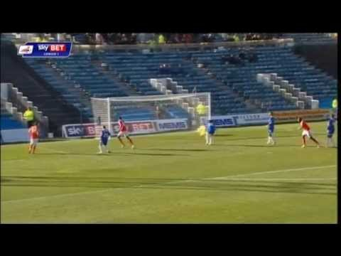 Chuks Aneke: Yet another brace for the Arsenal loanee v Gillingham