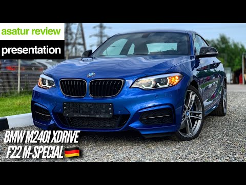 🇩🇪 Презентация BMW M240i XDrive F22 M-special