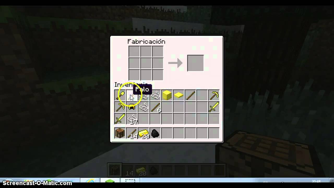 Como hacer cosas en minecraft con oro youtube for Como hacer muebles en minecraft