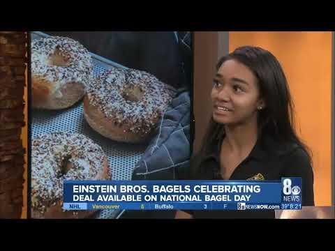 National Bagel Day 2020 Einstein Bros - Snackbox PR KLAS 8am