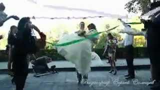 Свадебный клип с зонтиком