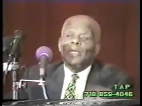 The Black Athena Debate - Dr. John Henrik Clarke vs Mary Lefkowitz