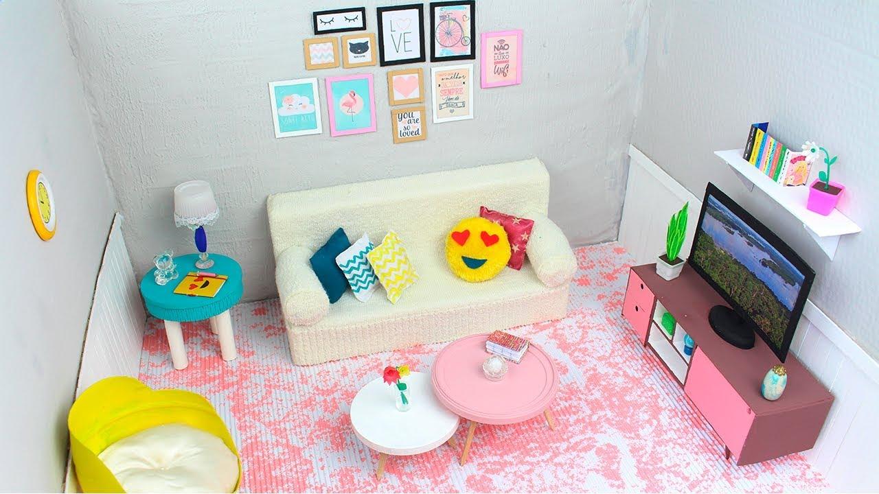 Como fazer: Sala decorada Tumblr para Barbie, Monster High