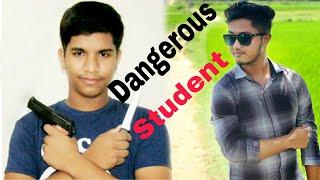 Dangerous Student || Dangerous Sir || Fighting || Bangla Funny Video || Fabir and Rifat