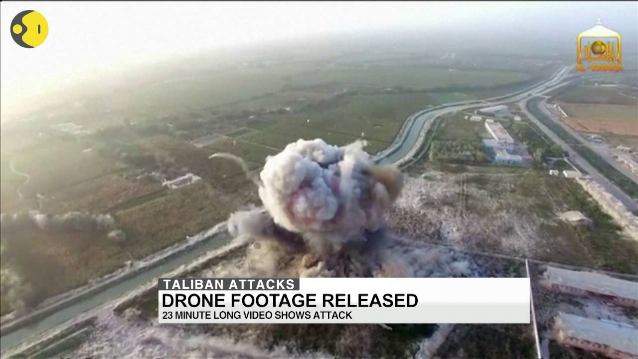 Download Taliban releases a drone footage of suicide bombing
