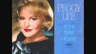 Watch Peggy Lee Senza Fine video
