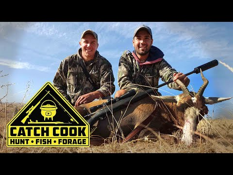 Hunting Antelope for South African Biltong | CATCH COOK