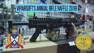 VIPAirsoft Annual Rifle Raffle 2016