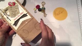 كيفية إنشاء بطاقة هدية جيب