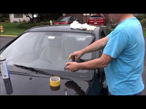 Fix Windshield Molding Loosen or fell off Glass Repair and Fix DIY