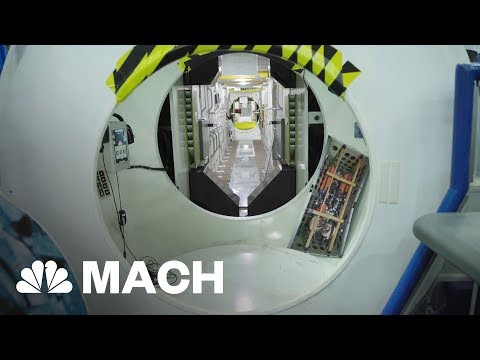 Take A Tour Of NASA's Full Size Mockup Of The ISS | Mach | NBC News