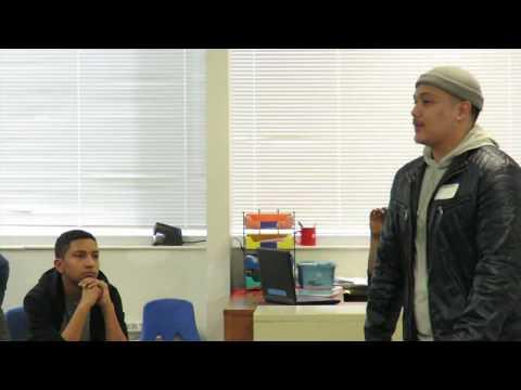 Rarebreedspeaks at E.L Haynes middle school