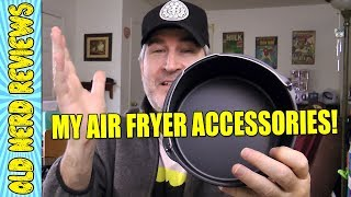 Must Have 12-PC Air Fryer Accessories Kit! 😍😎🍴