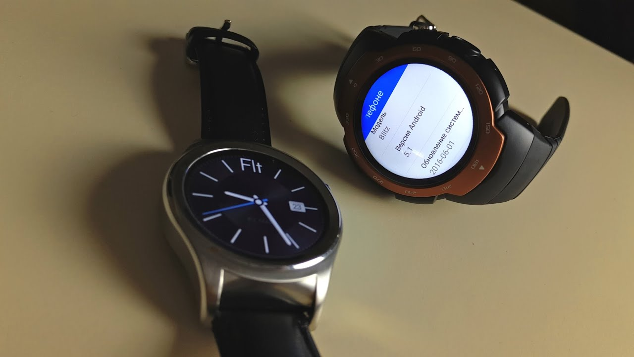 Китайские часы android wear