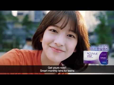 NEW ACUVUE VITA 1 Month Education Video (Eng subtitle)