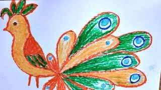 Уроки рисования. Как нарисовать фантастическую птицу(Картинки птиц бывают очень красивые, особенно если вы рисуете Жар-птицу или попугая Какаду. Цвета оперения..., 2014-02-20T20:52:42.000Z)