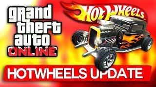 Update HOTWHEELS in GTA Online ! Wow