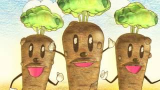 食材宅配のらでぃっしゅぼーや製作の食育動画・第一弾。 「野菜はおいし...