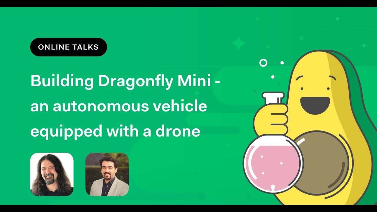 Building Dragonfly Mini   an autonomous vehicle equipped with a drone