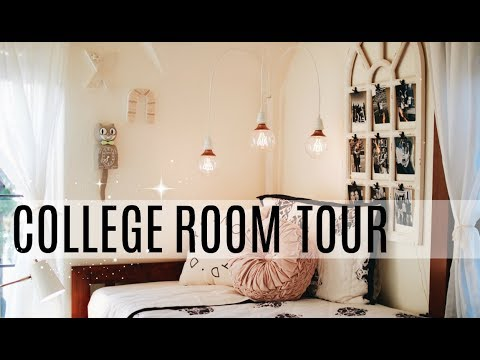 COLLEGE DORM ROOM TOUR! UNIVERSITY OF OREGON!