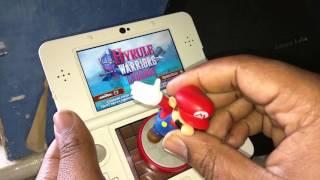 New Nintendo 3ds: Hyrule Warriors Legends Amiibo Gameplay