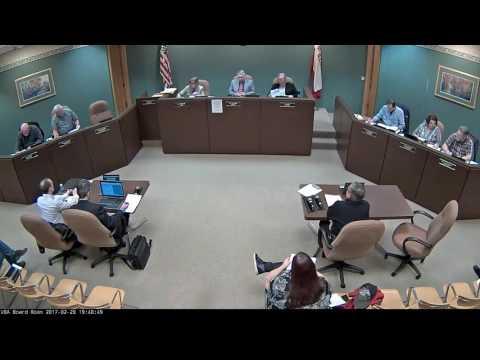 2017 02 20 Board Meeting VIDEO