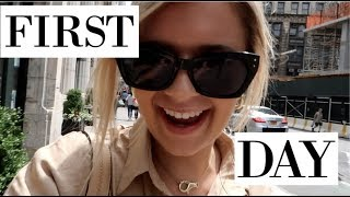 NYC DAY IN MY LIFE | first day of my internship