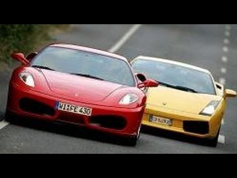 ferrari f430 vs lamborghini gallardo youtube. Black Bedroom Furniture Sets. Home Design Ideas