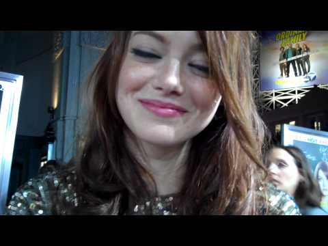 "Emma Stone at the ""Easy A"" premiere"