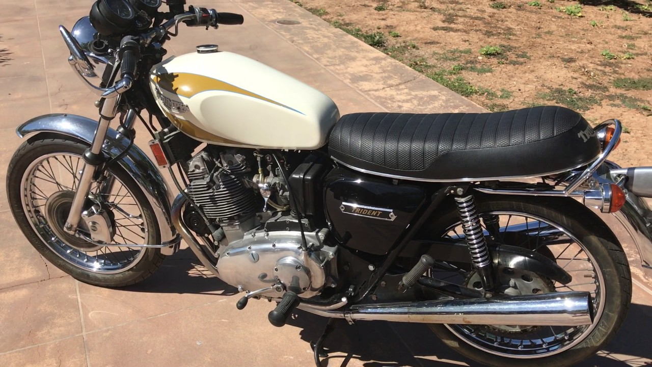 small resolution of 1975 triumph trident original paint for sale