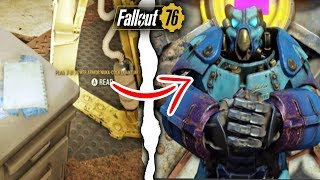 Fallout 76 | SECRET NUKA COLA QUANTUM POWER ARMOR! Secret Paint Plan, Hidden Keys, & TNT Dome  7