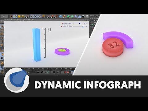 Animated 3D Infographics - Cinema 4D Tutorial