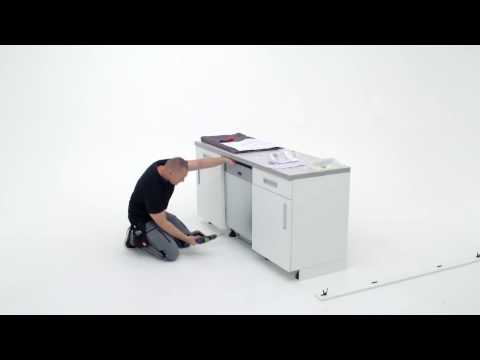 How To Install Your AEG 60 Cm Dishwasher With Sliding Hinge