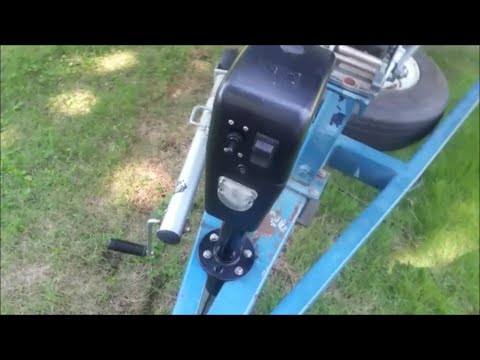 Replacing a 4 pin trailer harness with a 7 blade and install a power